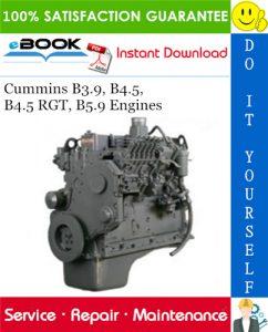 Cummins B3.9, B4.5, B4.5 RGT, B5.9 Engines