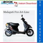 Malaguti F10 Jet-Line Service Repair Manual