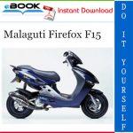 Malaguti Firefox F15 Service Repair Manual