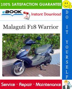 Malaguti F18 Warrior Service Repair Manual