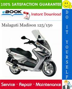 Malaguti Madison 125/150 Service Repair Manual