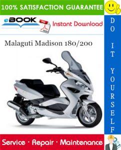 Malaguti Madison 180/200 Service Repair Manual
