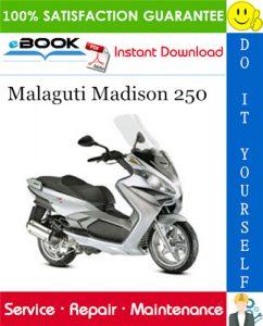 Malaguti Madison 250 Service Repair Manual