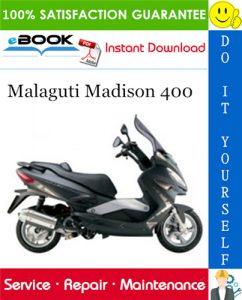 Malaguti Madison 400 Service Repair Manual