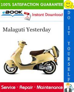 Malaguti Yesterday Service Repair Manual