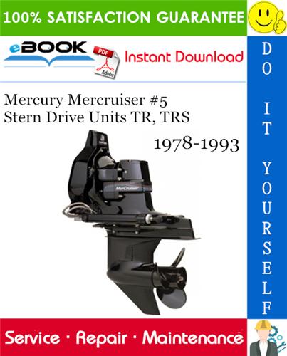 Mercruiser 4.3mpi manual