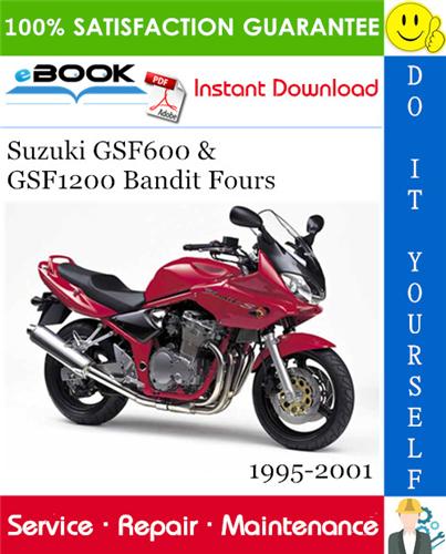 Suzuki Gsf600  U0026 Gsf1200 Bandit Fours Motorcycle Service