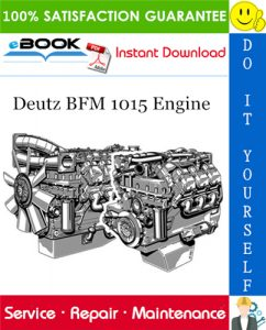 Deutz BFM 1015 Engine Service Repair Manual