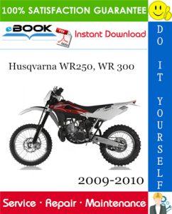 Husqvarna WR250, WR 300 Motorcycle Service Repair Manual