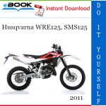 2011 Husqvarna WRE125, SMS125 Motorcycle Service Repair Manual