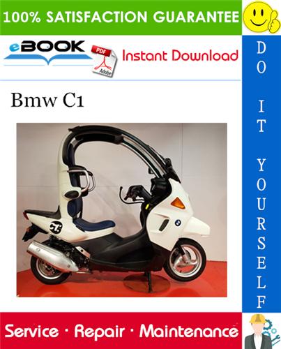 Bmw C1 Motorcycle Service Repair Manual