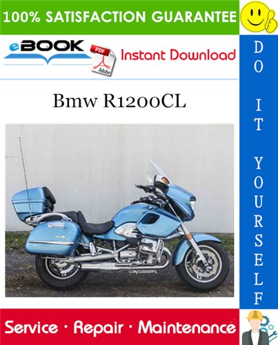 Bmw R1200CL Motorcycle Service Repair Manual
