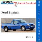 2002 Ford Bantam Service Repair Manual