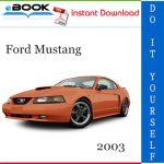 2003 Ford Mustang Service Repair Manual