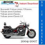 Kawasaki Vulcan 2000, VN2000, Vulcan 2000 Limited, Vulcan 2000 Classic, Vulcan 2000 Classic LT