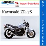 Kawasaki ZR-7S Motorcycle Service Repair Manual