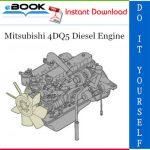 Mitsubishi 4DQ5 Diesel Engine Service Repair Manual