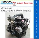 Mitsubishi S3Q2, S3Q2-T Diesel Engines Service Repair Manual