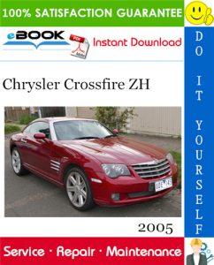 2005 Chrysler Crossfire ZH Service Repair Manual