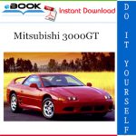 Mitsubishi 3000GT Service Repair Manual