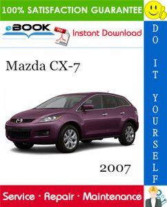 2007 Mazda CX-7 Service Repair Manual