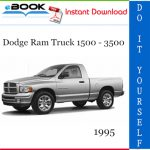 1995 Dodge Ram Truck 1500 - 3500 Service Repair Manual