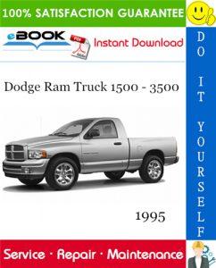 1995 Dodge Ram Truck 1500 - 3500 Service Repair Manual