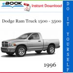 1996 Dodge Ram Truck 1500 - 3500 Service Repair Manual
