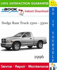 1996 Dodge Ram Truck 1500 - 3500 Service Repair Manual