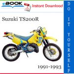 Suzuki TS200R Motorcycle Service Repair Manual