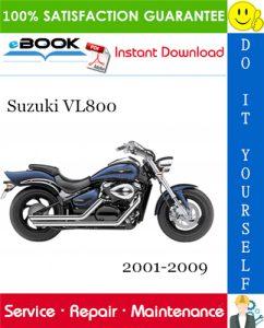 Suzuki VL800 Motorcycle Service Repair Manual