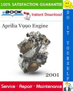 2001 Aprilia V990 Engine Service Repair Manual