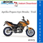 2005 Aprilia Pegaso 650 Strada - Trail Motorcycle Service Repair Manual