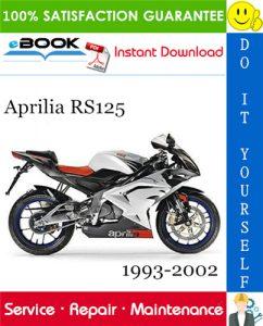 Aprilia RS125 Motorcycle Service Repair Manual