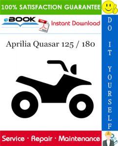 Aprilia Quasar 125 / 180 ATV Service Repair Manual