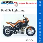 1997 Buell S1 Lightning Motorcycle Service Repair Manual
