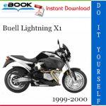 Buell Lightning X1 Motorcycle Service Repair Manual