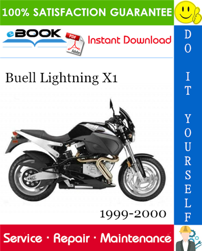 Buell Lightning X1 Motorcycle Service Repair Manual