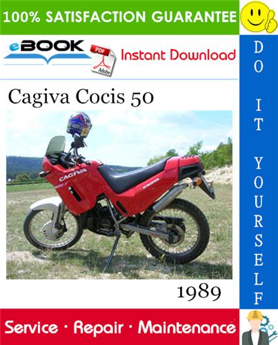 1989 Cagiva Cocis 50 Motorcycle Service Repair Manual