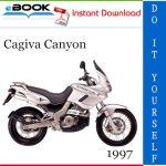 1997 Cagiva Canyon Motorcycle Service Repair Manual