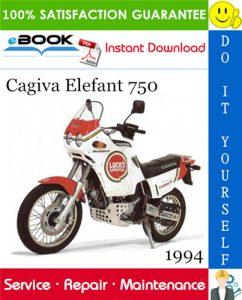 1994 Cagiva Elefant 750 Motorcycle Service Repair Manual