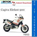 1993 Cagiva Elefant 900 Motorcycle Service Repair Manual