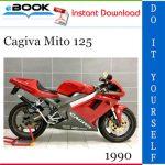 1990 Cagiva Mito 125 Motorcycle Service Repair Manual