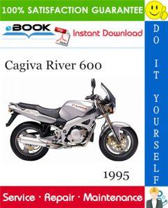 1995 Cagiva River 600 Motorcycle Service Repair Manual