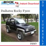 1990 Daihatsu Rocky F300 Service Repair Manual