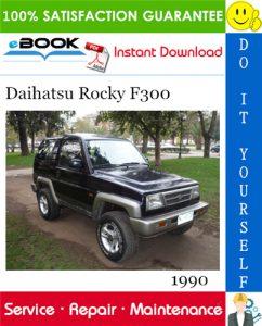 1990 Daihatsu Rocky F300 Service Repair Manual