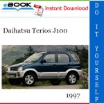 1997 Daihatsu Terios J100 Service Repair Manual