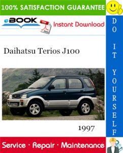 1997 Daihatsu Terios J100 Service Repair Manual