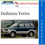 Daihatsu Terios Service Repair Manual
