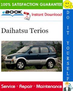 Daihatsu Terios Service Repair Manual